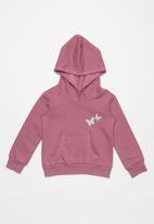 POP CANDY - Girls brushed fleece hoodie - pink