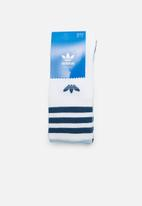adidas Originals - Solid crew 3 pack socks - multi