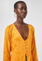 Superbalist - Maxi blouse - yellow