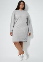 Superbalist - Sweat dress - grey