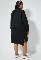 Superbalist - Sweat dress - black