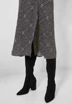 Superbalist - Split midi skirt - multi