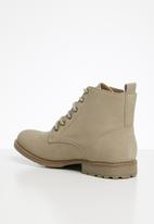 Superbalist - Austin military boot - stone
