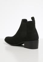 Cotton On - Brixton gusset boot - black