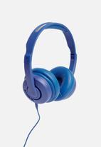Skullcandy - Cassette wireless on-ear - blue