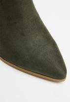 Miss Black - Mode boot - khaki