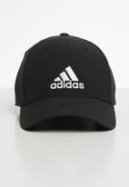 adidas Performance - Baseball lightweight embroidered cap - black