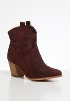 Dolce Vita - Capital cowboy boot - burgundy