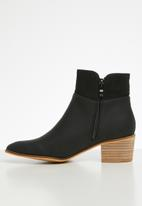 Miss Black - Archa boot - black