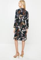 Jacqueline de Yong - Ollie 7/8 shirt dress - multi