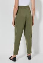 Superbalist - Extreme tapered trouser - khaki