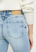 Factorie - Cropped flare jeans -  blue