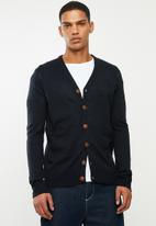 Brave Soul - Ghazelie button up cardi - navy