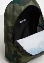 adidas Originals - Camo backpack - green