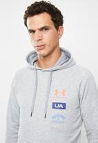 Under Armour - Rival originators hoodie - grey