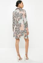 Glamorous - Leopard tunic dress - multi