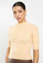 Glamorous - High neck knit- neutral