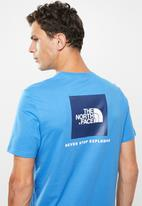 The North Face - Redbox tee - blue