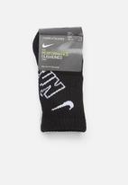 Nike - Nike hbr df crew 3 pack socks - multi