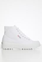 SUPERGA - 2341 Cotu alpina boot - white
