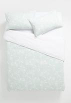 Linen House - Tropea duvet cover - aqua