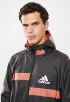 adidas Performance - Adidas w.n.d jacket - black & orange