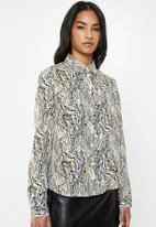 Glamorous - Petite abstract blouse - multi