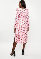 Glamorous - Maternity poppy dress - multi