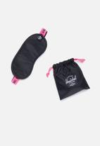 Herschel Supply Co. - Eye mask - black & neon pink