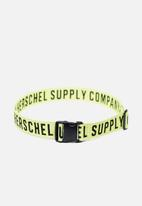 Herschel Supply Co. - Luggage belt - neon yellow & black