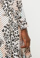 Glamorous - Maternity leopard tunic - multi