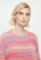 Vero Moda - Spacy o-neck knit - multi
