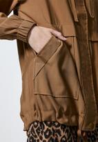 Superbalist -  Parka jacket - tan