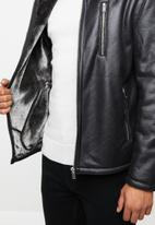 Brave Soul - Shadow jacket - black
