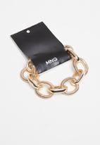 MANGO - Ashanti bracelet - gold