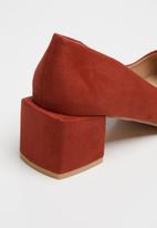 Footwork - Gabi heel - red