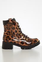 Footwork - Harriet boot - black & brown
