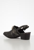 Footwork - Grace mule - black