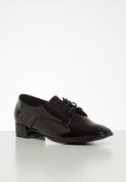 Footwork - Synthia oxford - black