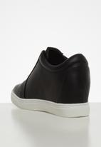 Footwork - Zippy sneaker - black