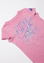 Nike - Futura regrind scoop tee - pink