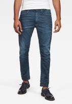 G-Star RAW - D-staq 3D slim-teal stretch denim - blue
