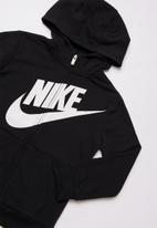Nike - Nkb futura fr terry fz hoodie - black