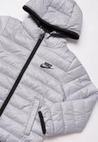 Nike - Nkn 247 360 reversible jacket - silver