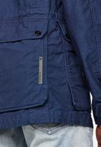 G-Star RAW - Back pocket field jacket - blue