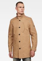 G-Star RAW - Scutar half-lined trench - brown