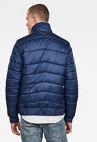 G-Star RAW - Meefic quilted overshirt - blue
