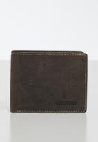 BOSSI - Leather dusba - brown