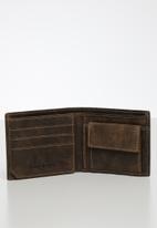 BOSSI - Leather disssb - brown