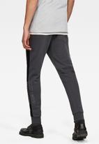 G-Star RAW - Block originals graphic sweatpants - grey